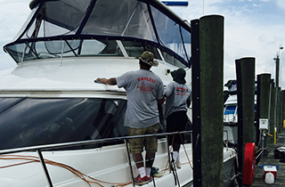 Boat Waxing Services | Payless Boat & Yacht Detailing | Deale, MD | (443) 404-1957